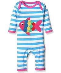 Toby Tiger Baby-Mädchen Spieler Fish Applique Sleepsuit