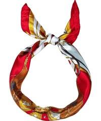 New Look Bandana rouge à imprimé chaînes