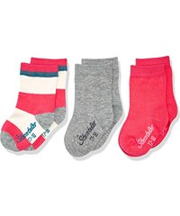 Sterntaler Baby-Mädchen Socken Söckchen 3er-Pack Ringel