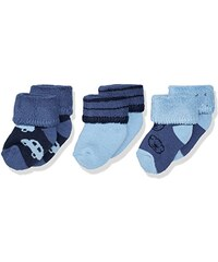 Sterntaler Baby-Jungen Socken Erstlingss.Auto/Bär,3er-Pack