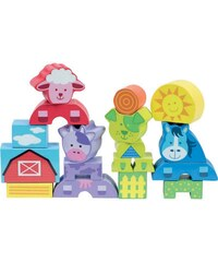 First Learning Animaux - Blocs en bois - multicolore