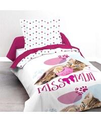 Ifilhome Missmini - Parure de lit 2 pièces - rose