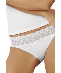 Italian Fashion Bavlněné kalhotky Korin bílé