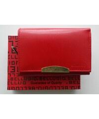 Peněženka BELLUGIO červená