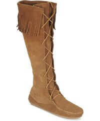 Minnetonka Bottes FRONT LACE KNEE HIGH BOOT