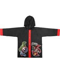 Disney Brand Chlapecký kabátek do deště Avengers - černý