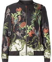Jake*s Collection Bomber mit exotischem Print