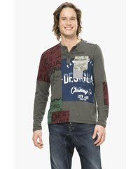 Desigual barevné pánské triko Roger