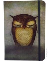 Santoro sešit Grumpy Owl