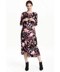H&M MAMA Vzorované šaty