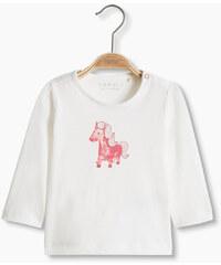 Esprit T-shirt à motif poney, 100 % coton