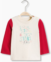 Esprit Tričko s barevnými díly, 100% bavlna