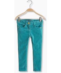 Esprit Kalhoty z jemného manšestru, bavlna/streč
