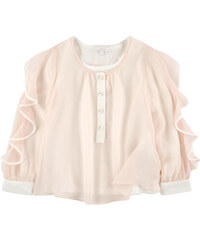 Chloé Silk blouse and matching T-shirt
