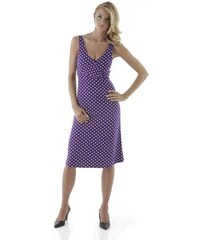 Vivance Collection Damen Sommerkleid lila 32,34,36,38,40,42,44,46,48