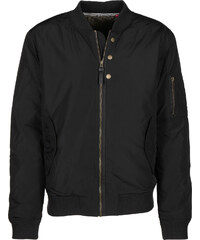 Fat Moose Bomberjacke black