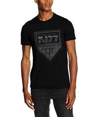 Kiss Herren T-Shirt Army Distressed