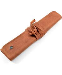 Giesen & Forsthoff Kožené pouzdro na břitvu Vintage Rollup J7-6-8945