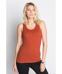 débardeur Orange Coton - Femme Taille 0 - Cache Cache