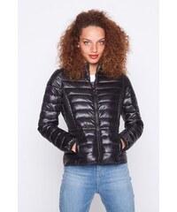Doudoune fine unie aspect brillant Noir Polyester - Femme Taille 1 - Cache Cache