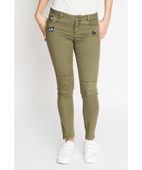 skinny patch couleur Vert Elasthanne - Femme Taille 34 - Cache Cache