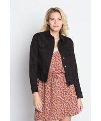 Veste en jean boutonnée Noir Elasthanne - Femme Taille 0 - Cache Cache