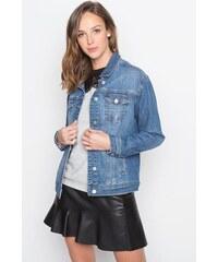 Veste en jean coupe droite Bleu Acetate - Femme Taille 1 - Cache Cache
