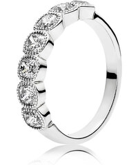 Pandora Kombinierbarer Ring Verführerische Kreise Silber 191019CZ-48