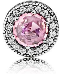 Pandora Charm Appreciation (Wertschätzung) Silber Pink Cubic Zirkonia 796082PCZ