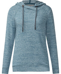 Cecil - T-shirt à capuche sportif - glazed neptune bleu