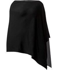 Street One - Poncho en jersey Felin - Black