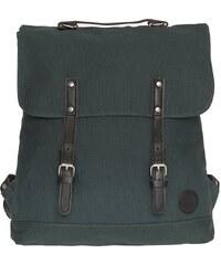 Enter Rucksack, »Backpack, Army Green/ Dark Brown Leather«