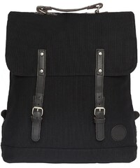 Enter Rucksack, »Backpack, Black/Dark Brown Leather«