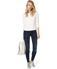 TOM TAILOR DENIM Jeans »Jona blue-black wide waistband«