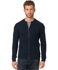 TOM TAILOR Strickjacke »structured zip jacket«