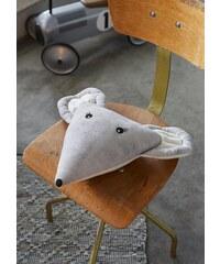 Dekokissen, Covers & Co, »Mouse«, in Mäusekopf-Form