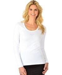 TRIGEMA Langarm-Shirt mit Swarovski® Kristallen