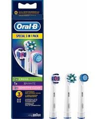 Oral-B Aufsteckbürsten Multi Pack 3 in 1, Für Elektrische Zahnbürsten, 3er Pack