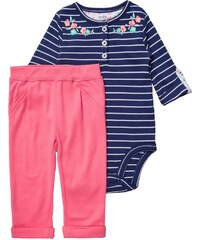 Carter´s SET Stoffhose blue/white/pink
