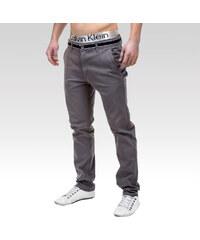 Ombre Clothing kalhoty Daedalus šedé S.