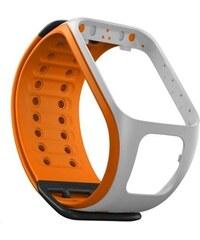 TomTom Řemínek k GPS hodinkám (L) - světle šedá/oranžová