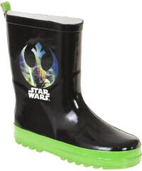Star Wars-The Clone Wars Regenstiefel schwarz in Größe 28/29 für Jungen