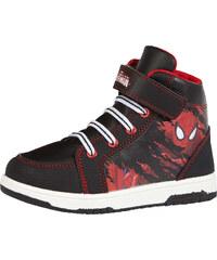 Spiderman Sneaker high schwarz in Größe 25 für Jungen aus 100% Polyester