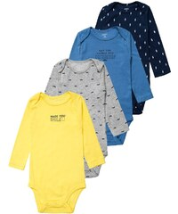 Carter´s 4 PACK Body yellow/blue