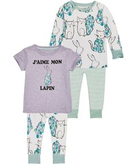 Next 2 PACK Pyjama green