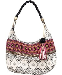 Smitten INDIAN SNOW Handtasche black/white