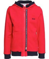 BOSS Kidswear Sweatjacke pop red