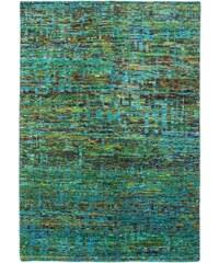 Ručně tkaný kusový koberec SAREE DE LUX 820 EMERALD, Rozměry 120x170 Obsession