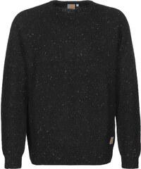 Carhartt Wip Anglistic pull en laine black heather