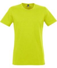 Große Größen: TRIGEMA T-Shirt Baumwolle/Elastan, lemon, Gr.XS-M